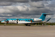 Brand new Gulfstream in Pinguin colours on delivery to Hong Kong title=