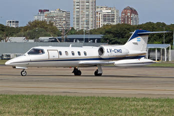 LV-CMO - Private Learjet 35