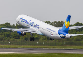 G TCDW - Thomas Cook Airbus A321