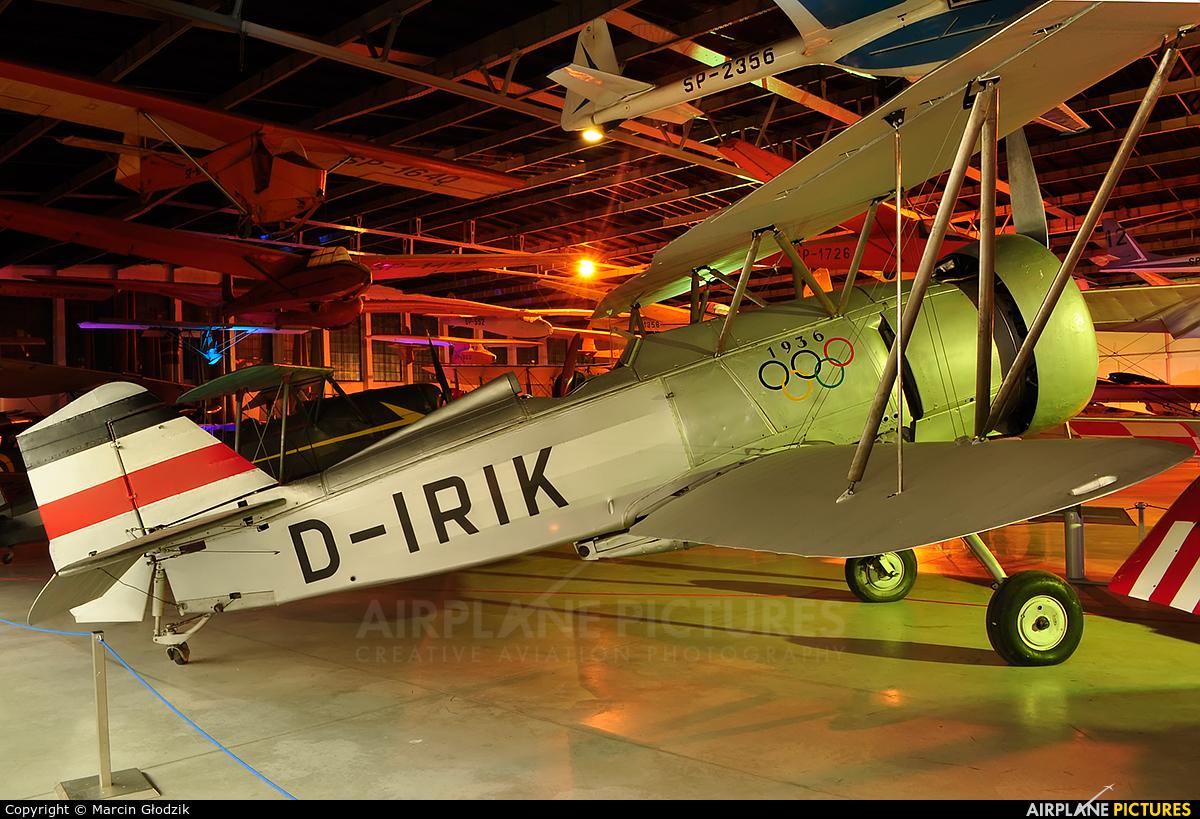 Germany - Luftwaffe (WW2) D-IRIK aircraft at Kraków, Rakowice Czyżyny - Museum of Polish Aviation