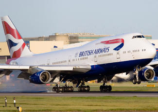 G-CIVF - British Airways Boeing 747-400