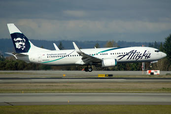 N568AS - Alaska Airlines Boeing 737-800