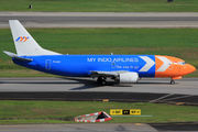PK-MYI - My Indo Airlines Boeing 737-300F aircraft