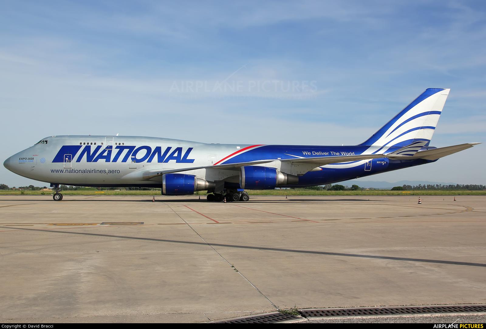 National Airlines N919CA aircraft at Pisa - San Giusto