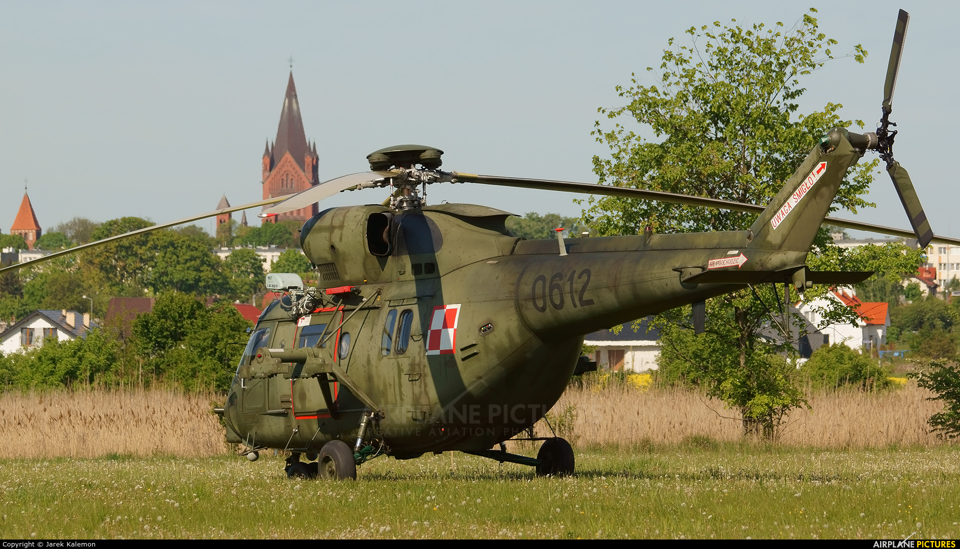 Poland - Army 0612 aircraft at Inowrocław