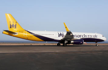 G-ZBAD - Monarch Airlines Airbus A321