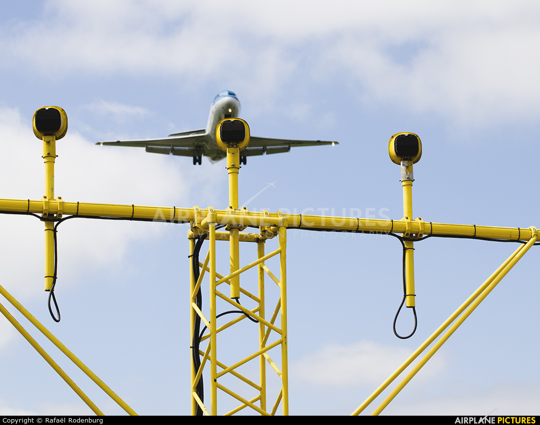 KLM Cityhopper PH-KZN aircraft at Amsterdam - Schiphol