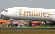 A6-ECA - Emirates Airlines Boeing 777-300ER aircraft