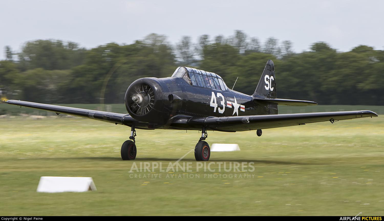 Goodwood Aero Club G-AZSC aircraft at Lashenden / Headcorn