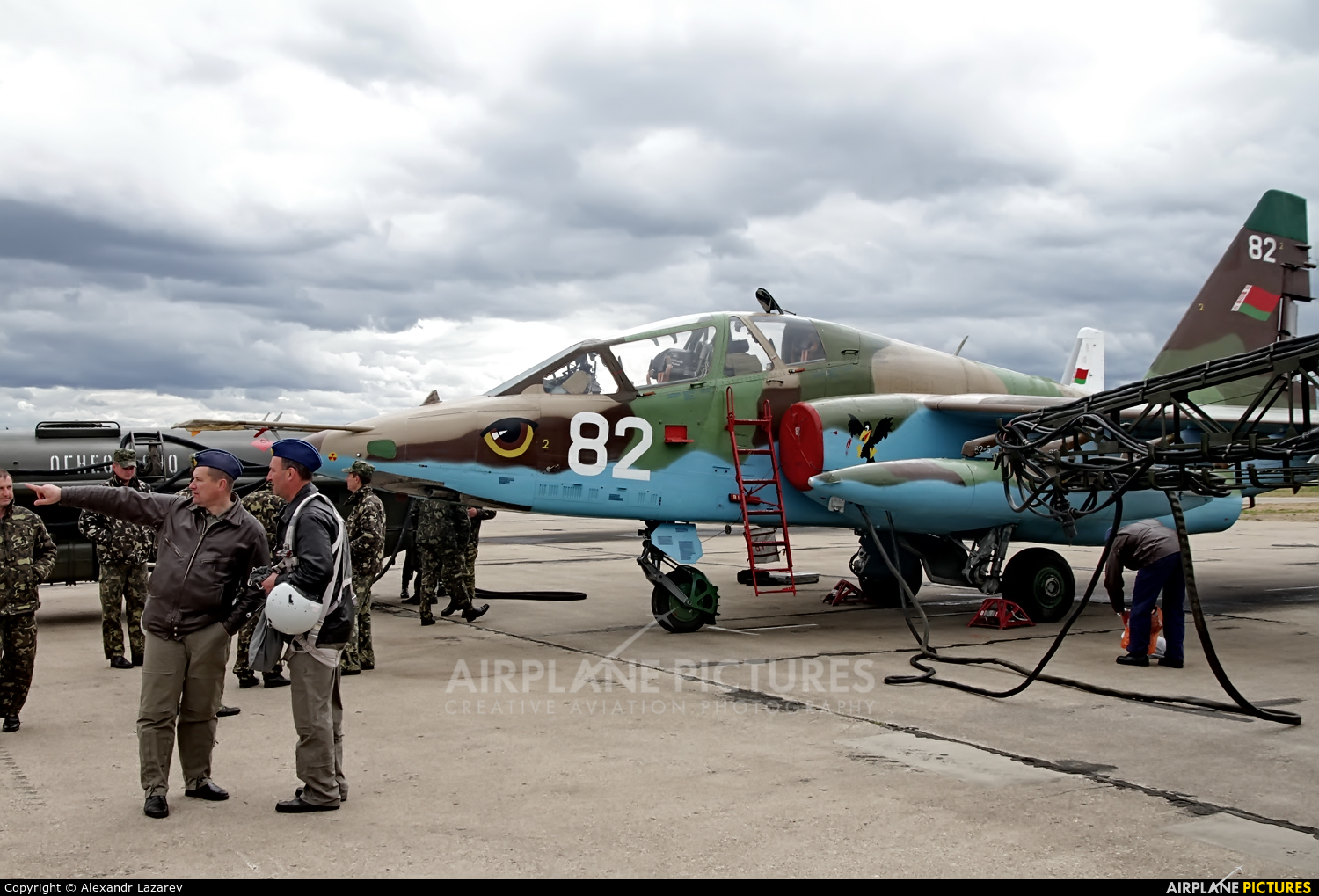 Belarus - Air Force 82 aircraft at Minsk Machulishchi