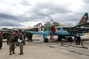 82 - Belarus - Air Force Sukhoi Su-25 aircraft