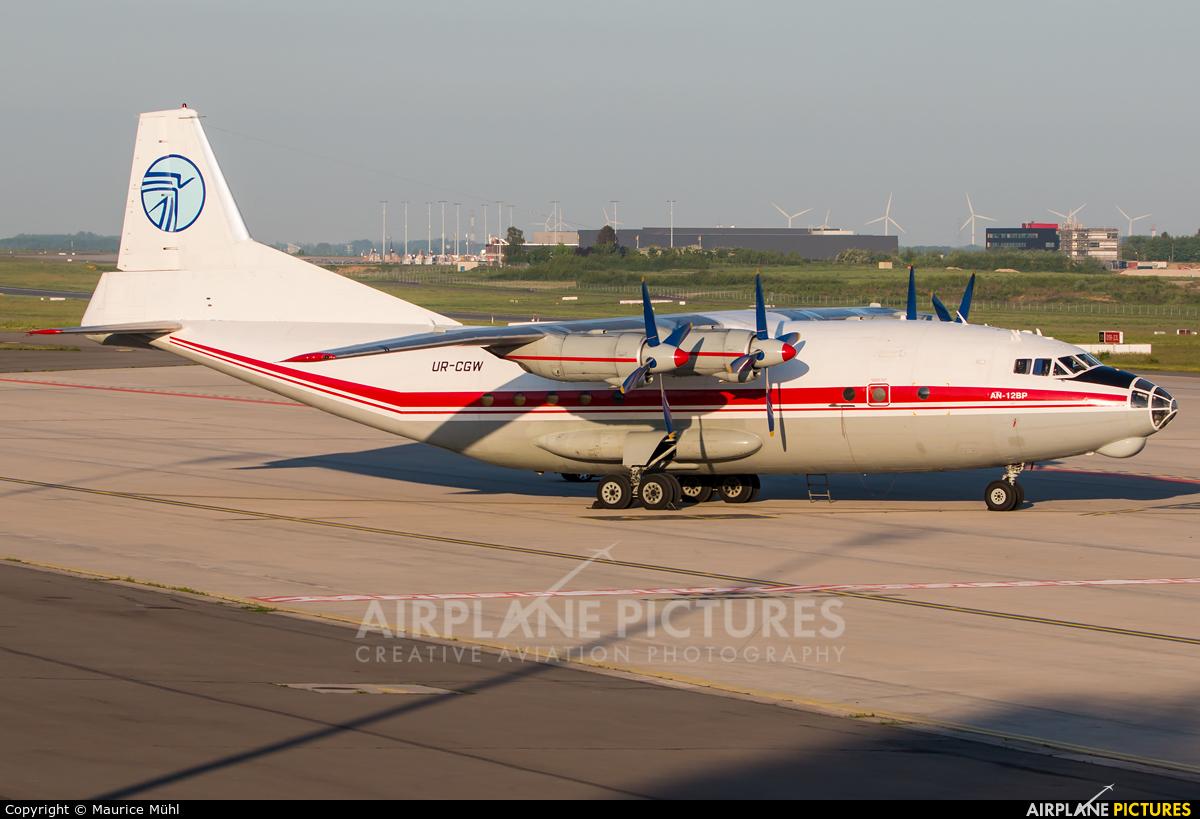 Ukraine Air Alliance UR-CGW aircraft at Liège-Bierset