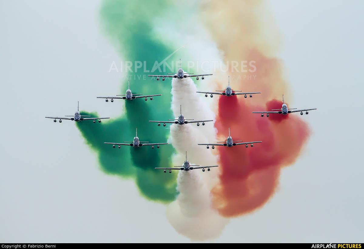 "Italy - Air Force ""Frecce Tricolori"" MM54517 aircraft at Ghedi"