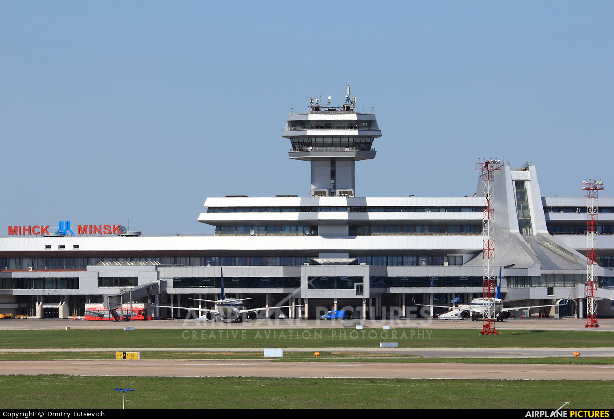 - Airport Overview - aircraft at Minsk Intl