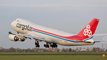 LX-VCK - Cargolux Boeing 747-8F