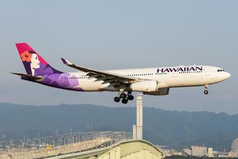 N381HA - Hawaiian Airlines Airbus A330-200
