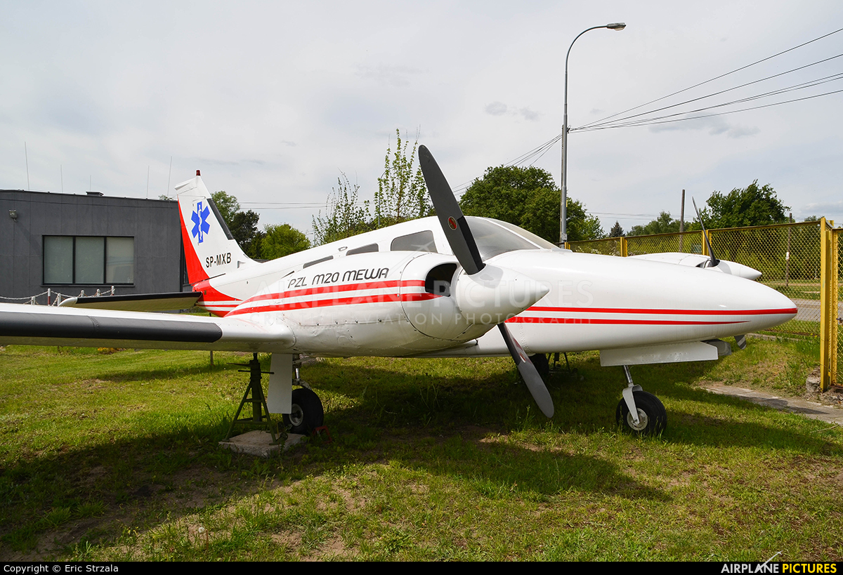 Polish Medical Air Rescue - Lotnicze Pogotowie Ratunkowe SP-MXB aircraft at Warsaw - Babice