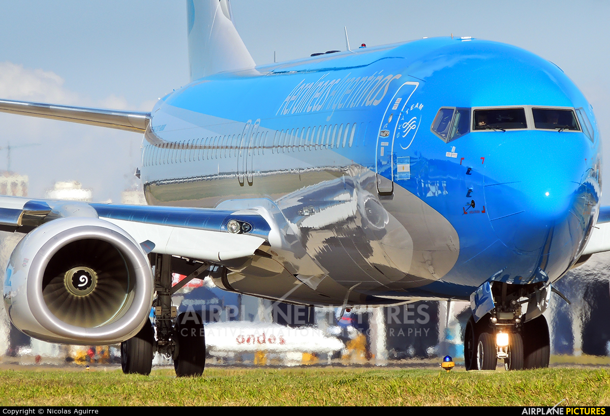 Aerolineas Argentinas LV-FVN aircraft at Buenos Aires - Jorge Newbery