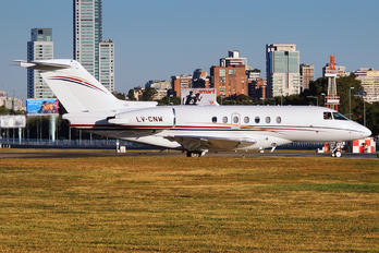 LV-CNW - Private Hawker Beechcraft 4000 Horizon