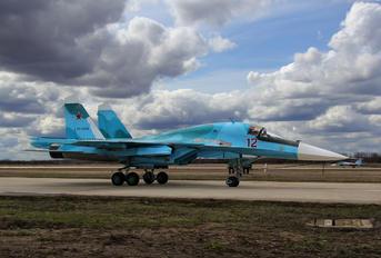 12 - Russia - Air Force Sukhoi Su-34