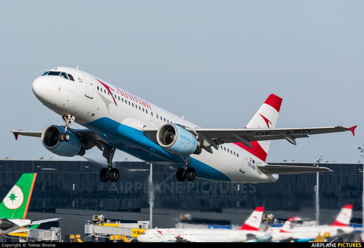Austrian Airlines/Arrows/Tyrolean OE-LBQ aircraft at Vienna - Schwechat