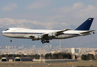 5-8107 - Iran - Islamic Republic Air Force Boeing 747-100
