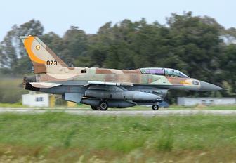 873 - Israel - Defence Force Lockheed Martin F-16I Sufa
