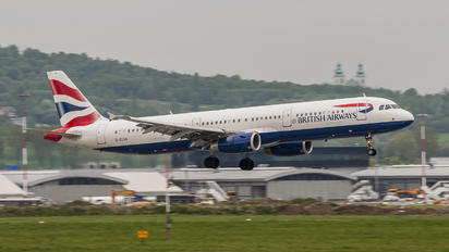 G-EUXK - British Airways Airbus A321