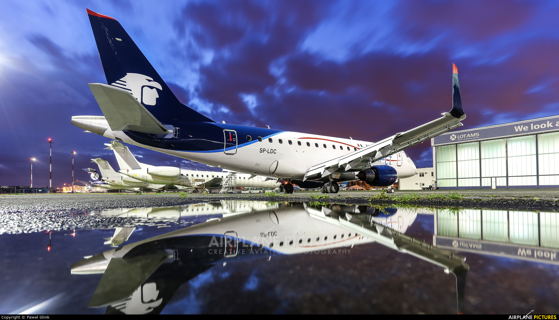 Aeromexico Connect SP-LDC aircraft at Warsaw - Frederic Chopin