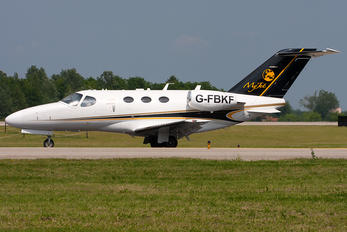 G-FBKF - Private Cessna 510 Citation Mustang