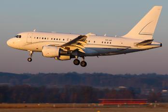 HZ-A5 - Alpha Star Airbus A318 CJ
