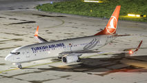 TC-JHR - Turkish Airlines Boeing 737-800 aircraft