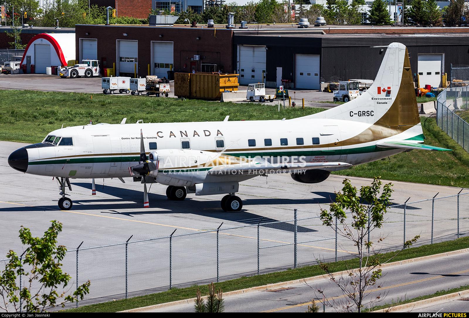 Environment Canada C-GRSC aircraft at Ottawa - Macdonald-Cartier Intl, ON