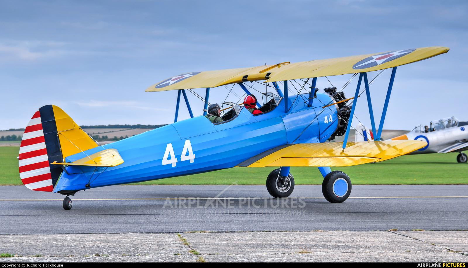 Private G-RJAH aircraft at Duxford