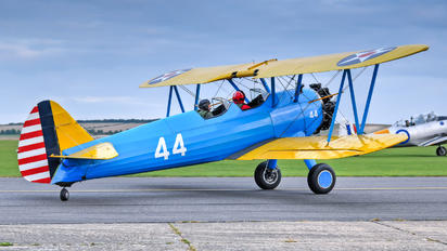G-RJAH - Private Boeing Stearman, Kaydet (all models)