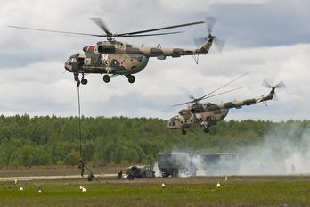34 - Belarus - Air Force Mil Mi-8AMT