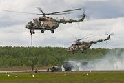 34 - Belarus - Air Force Mil Mi-8AMT aircraft