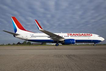 EI-RUR - Transaero Airlines Boeing 737-800