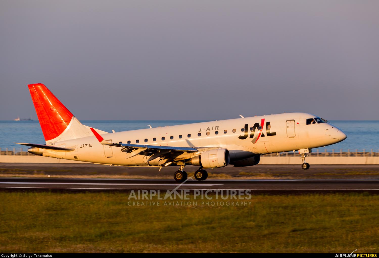 J-Air JA211J aircraft at Oita