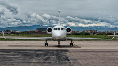 N225FJ - Private Dassault Falcon 2000 DX, EX