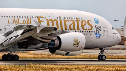 A6-EOC - Emirates Airlines Airbus A380