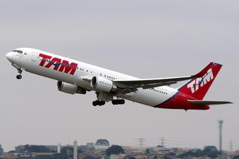 PT-MSX - TAM Boeing 767-300ER