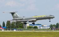 63957 - Ukraine - Air Force Tupolev Tu-134AK aircraft