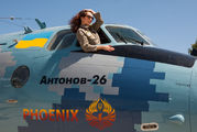08 - Ukraine - Air Force Antonov An-26 (all models) aircraft