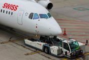 HB-IXW - Swiss British Aerospace BAe 146-300/Avro RJ100 aircraft