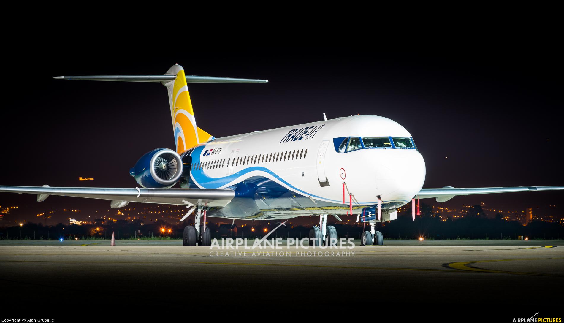 Trade Air 9A-BTE aircraft at Zagreb