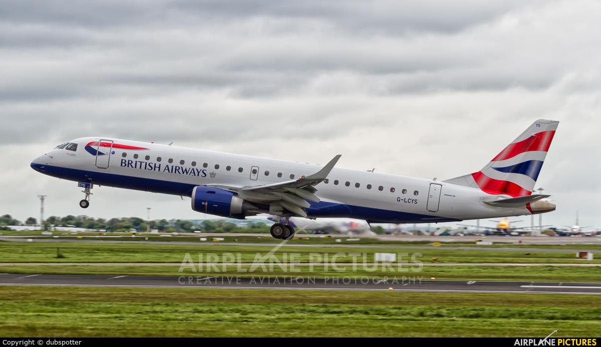 British Airways - City Flyer G-LCYS aircraft at Dublin
