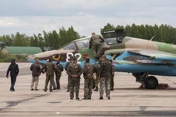 82 WHITE - Belarus - Air Force Sukhoi Su-25UB