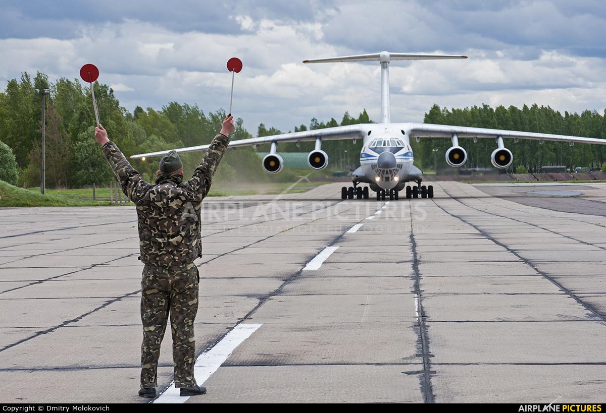 Belarus - Air Force EW-005DE aircraft at Minsk Machulishchi