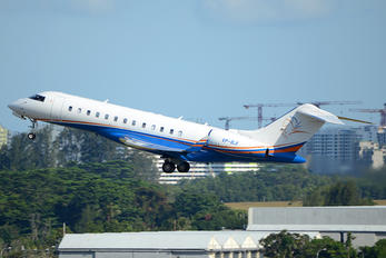 VP-BJI - Private Bombardier BD-700 Global Express XRS